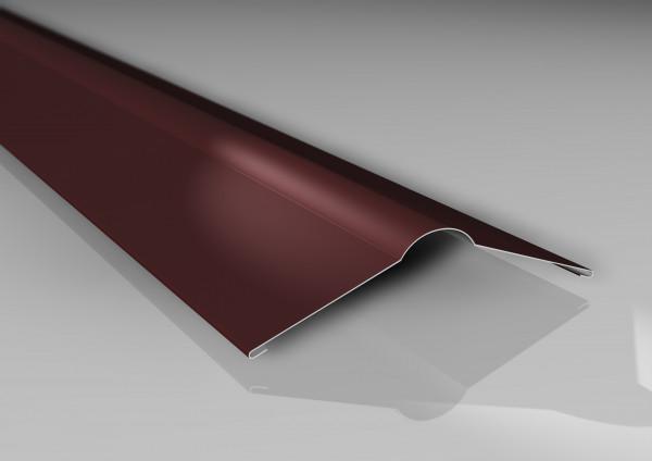 Firstblech flach | 140 x 140 mm | 25µm Polyesterbeschichtung