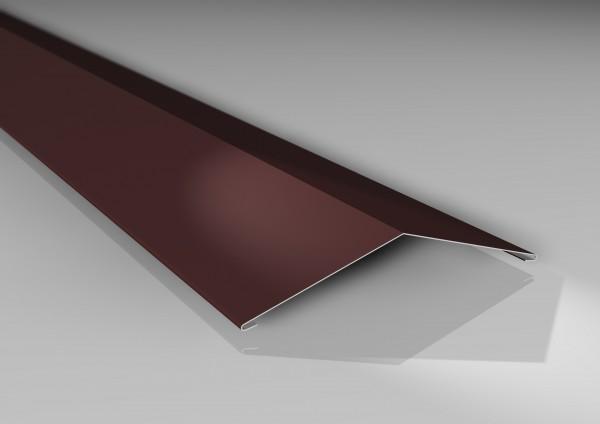 1m Firstblech Typ 2 flach | 140 x 140 mm | 25µm Polyesterbeschichtung
