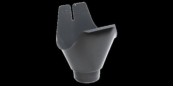 125 mm | 150 mm Rinnenablauf Fallrohrabschluß = 100 mm