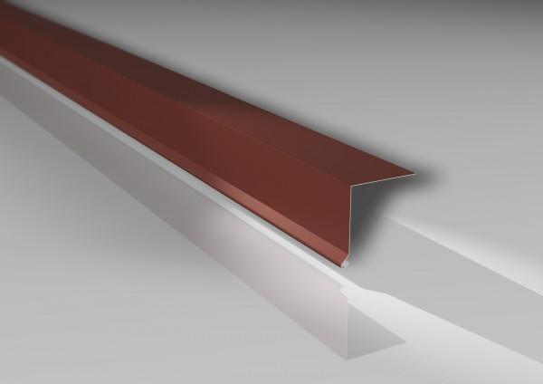 Traufenleisten Typ 2 | 50 x 50 mm | 60 µm TTHD-Beschichtung
