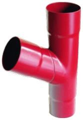75 mm PVC - Fallrohrabzweig