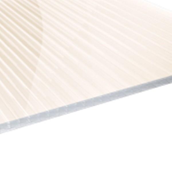 32 mm Stegzehnfachplatten Reflect-Gold-Opal Polycarbonat