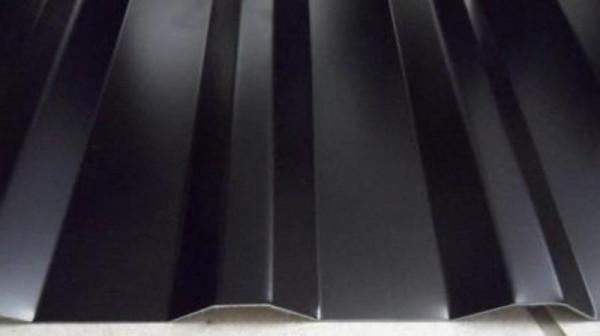SOPO 20 / 1100 Trapezblech D=0,60 50µm Pural 33 - schwarz