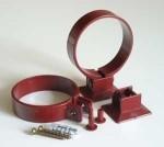 75 mm PVC - Fallrohrschellen