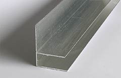10 o. 16mm Alu-Wand / Randabschluß