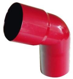 90 mm PVC - Fallrohrbogen