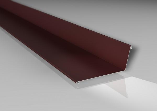 Alu-Wandanschluss | 160x115 mm | 25 µm Polyester-Beschichtung