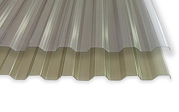 PVC-Standard-Spundwandplatten | bronce oder klar