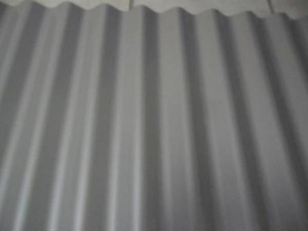 W-1 / 1064 Wellblech 25µm Polyester D=0,50 RAL 9007 graualuminium