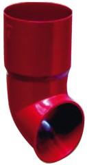 75 mm PVC - Fallrohrauslauf