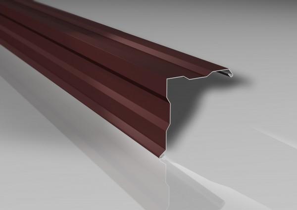 1m Ortgangwinkel 115x115mm | 25 µm Polyesterbeschichtung