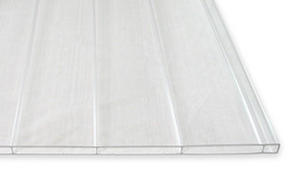 16 mm Breitkammer / Stegdoppelplatten, glashell 980 mm