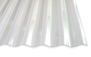 1,0 mm PVC-Wellplatten 76/18 klar