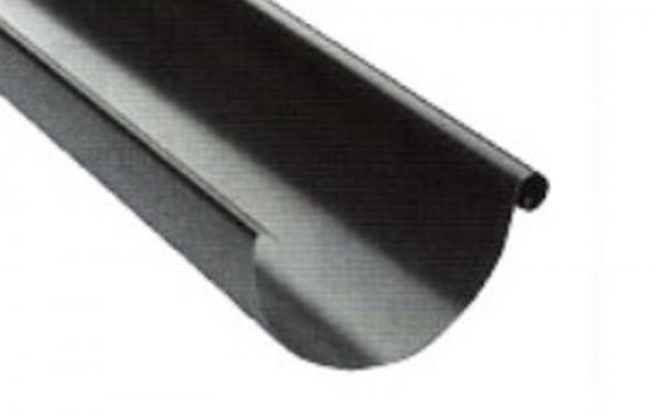 125/100 mm Metalll - Dachrinne 3m