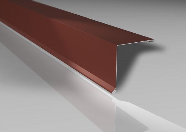 Alu-Pultabschluss | 115x115 mm | 25 µm Polyester-Beschichtung