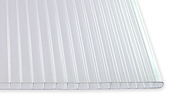 4,5 mm Stegdoppelplatten, glashell | 1,05m
