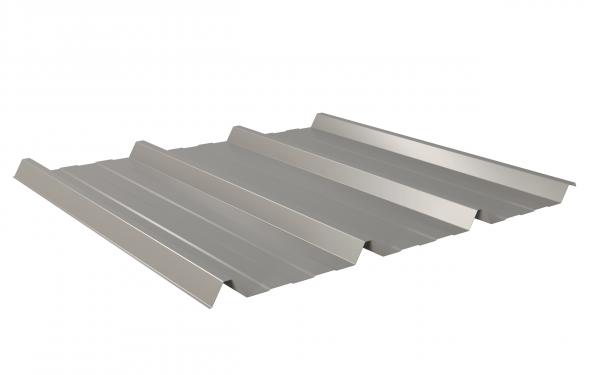 W-45 / 1000 Trapezblech 0,50 Sonderposten 25µm Polyester 9007 graualumnium
