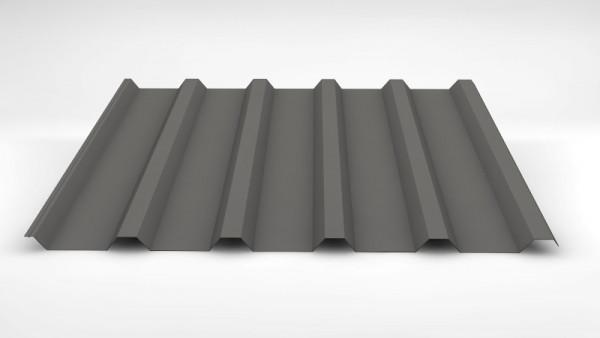 SOPO W35 / 207 Trapezblech 0,50mm 25µm Polyester RAL 9007
