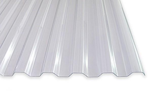 1,2 mm PVC-Spundwandplatten | klar oder bronze