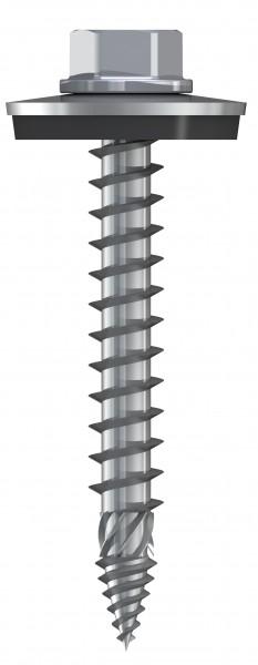 Edelstahl-Schrauben, 6,0 x 76 mm E16