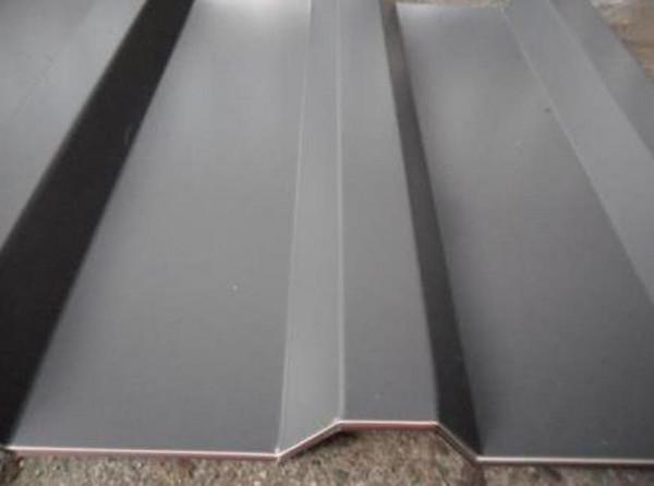 SOPO 20 / 1100 Trapezblech D=0,50 25µm Polyester RAL 9007 graualuminium